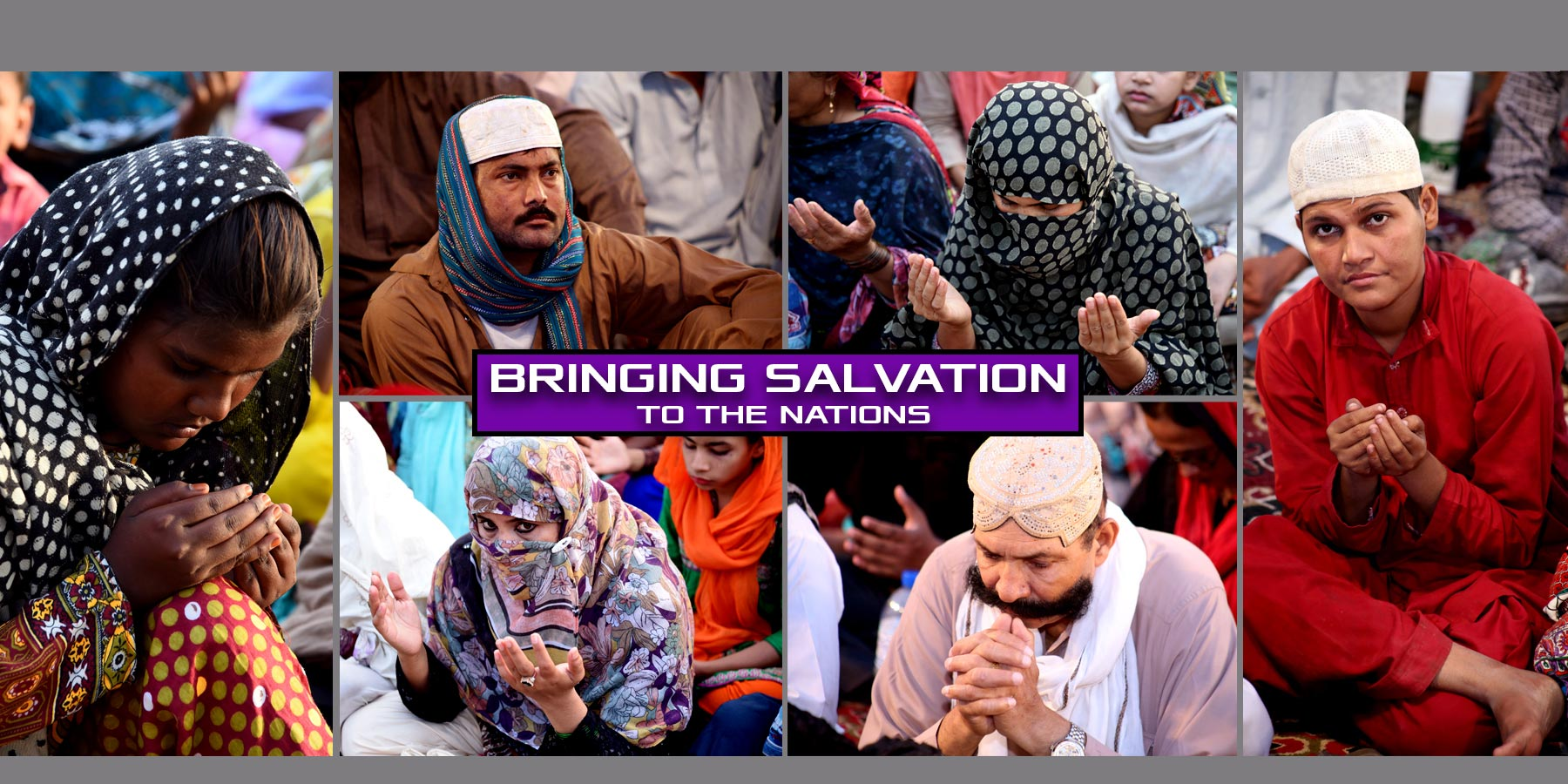 BRINGING SALVATION TO THE NATION